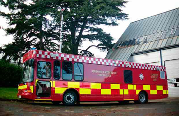 Command Support Unit Hereford Amp Worcester Fire And