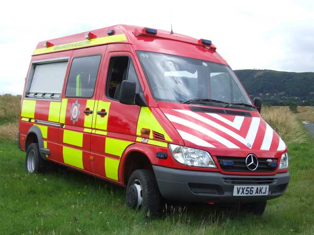Mercedes Sprinter Restricted Area Rescue