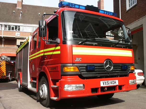 Mercedes Fire Engine Hereford Amp Worcester Fire And