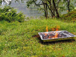 Leave your barbecue at home and don't take it with you on your picnic